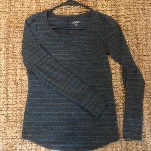 Adorable long sleeve(  LOFT) shirt ❤️